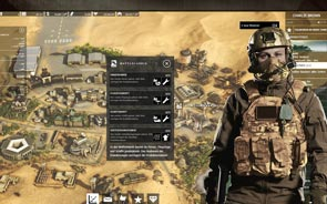 Desert Operations - Screenshot Tvá základna