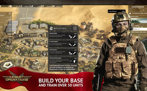 Desert Operations - Screenshot Bouw je basis
