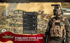 Desert Operations - Screenshot construisez votre base