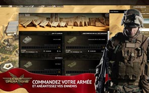 Desert Operations - Screenshot commander une armée