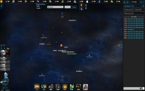 Empire Universe 3 - Screenshot Das Weltall