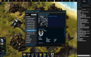 Empire Universe 3 - Screenshot centre de recherche