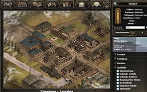 Generals of War - Screenshot Deine Komandozentrale