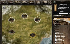Generals of War - Screenshot Städte