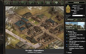Generals of War - Screenshot Centrala