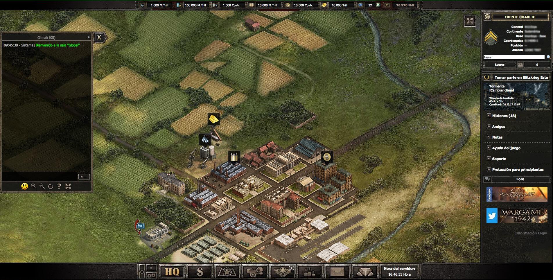 Wargame 1942 Juego De Estrategia De La Segunda Guerra