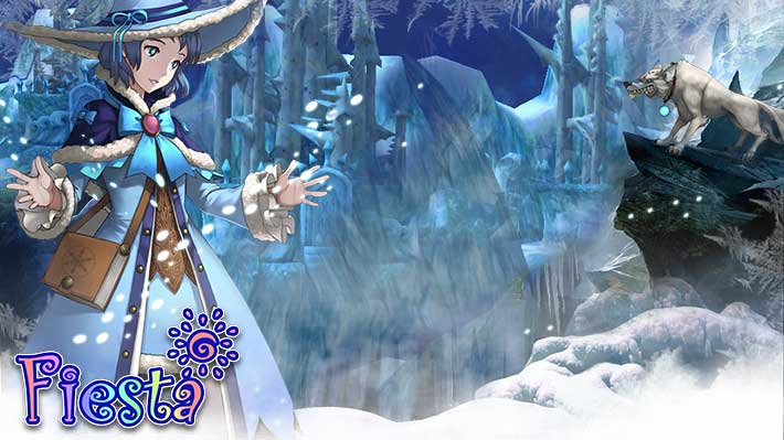 Fiesta Online Winter Wallpaper