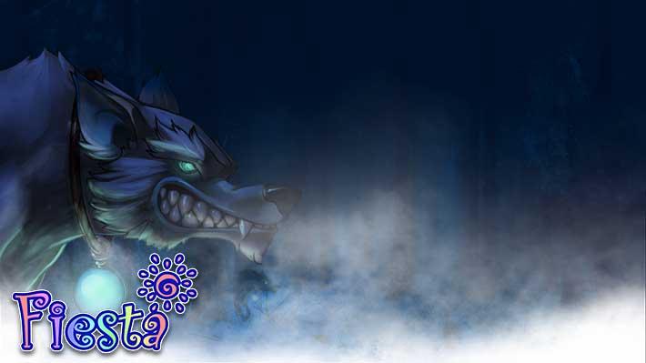 Fiesta Online Wallpaper böser Wolf
