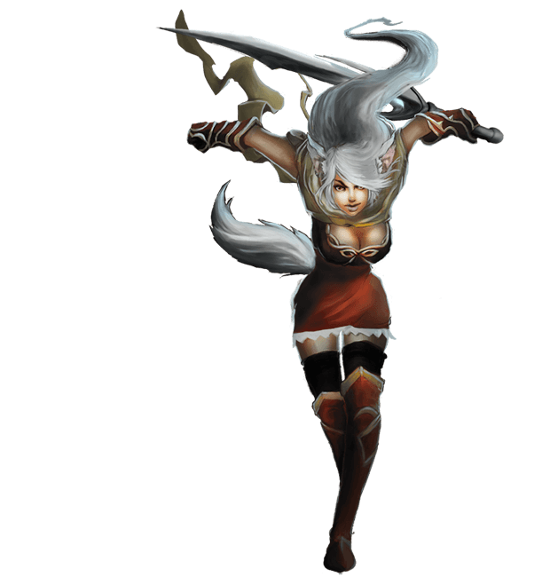Kings & Legends – Female elf